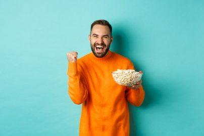 Mais Koken Als Popcorn In Een Pannetje